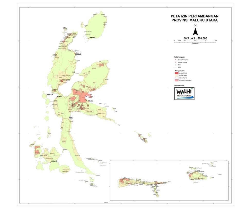 Konflik Ruang  di Maluku Utara