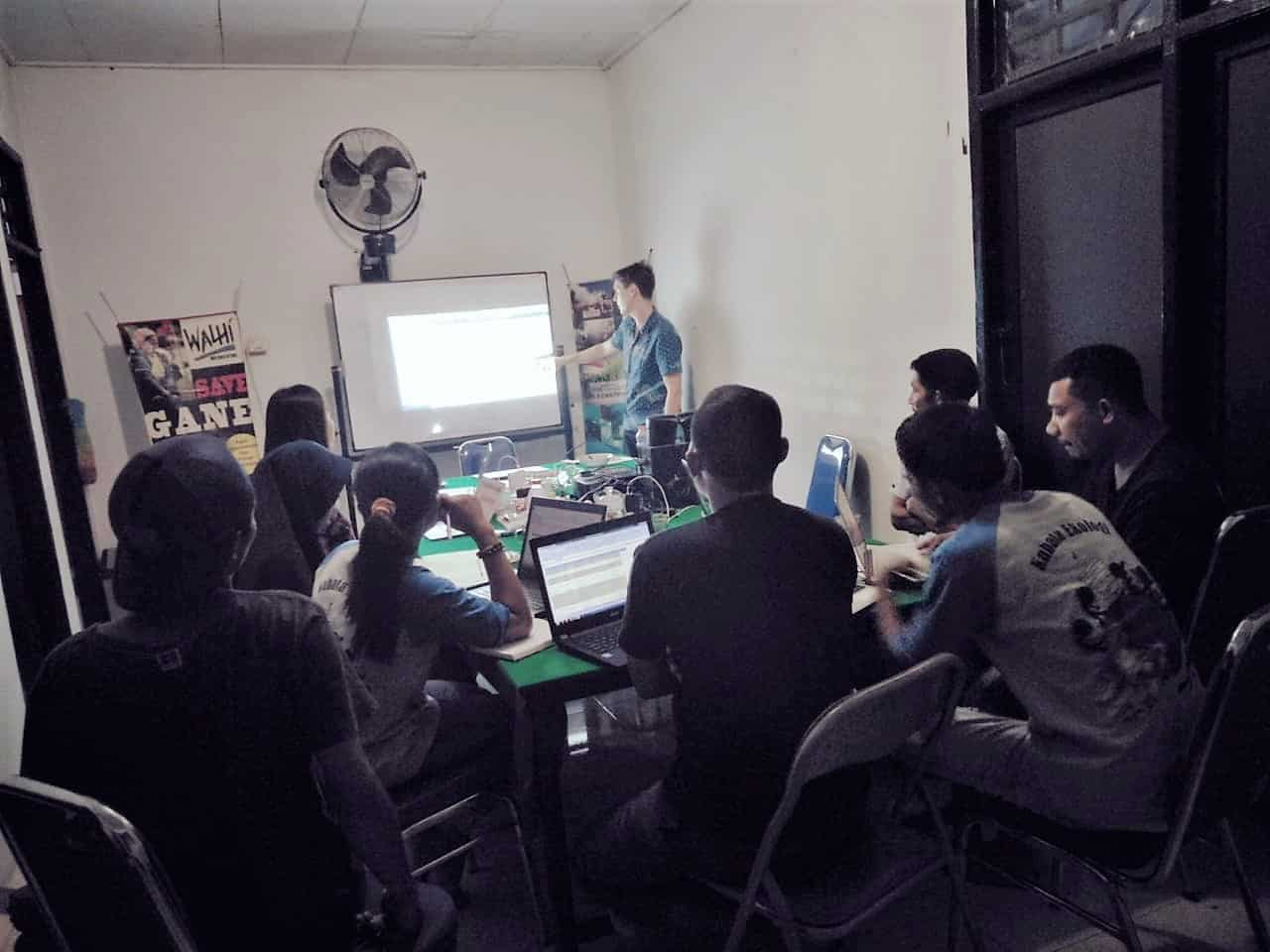 Pelatihan Investigasi bagi Jurnalis dan Aktivis Lingkungan Hidup
