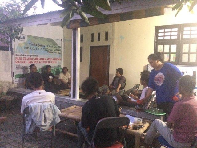 Walhi Malut, Diskusi Terbuka RUU Cipta Kerja